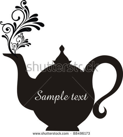 teapot silhouette clipart clipground