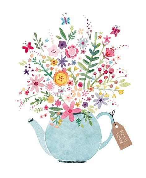 Image result for Teapot and Teacup Clip Art Borders in 2019.