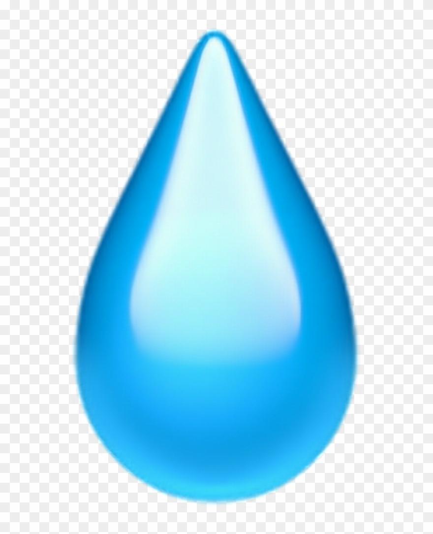 Png Freeuse Teardropemoji Emoji Tear Drop.