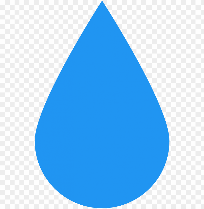 the icon is shaped simply like a tear drop falling.