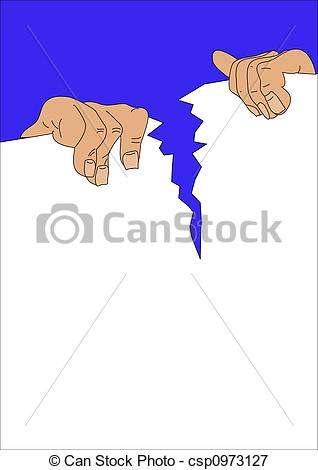 Stock Illustrations of hands.