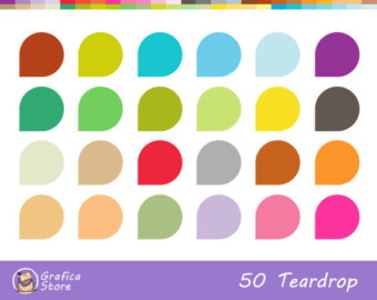 20 Planner Icon Clipart for Commercial Use.