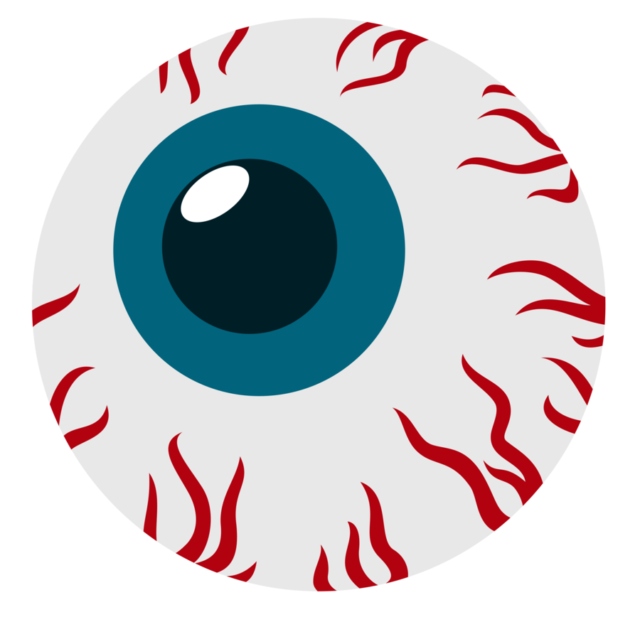 Blood Eye Clipart.