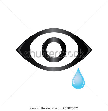 Tear In Eye Stock Images, Royalty.
