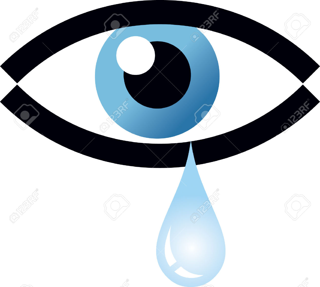 Eye Tear Royalty Free Cliparts, Vectors, And Stock Illustration.