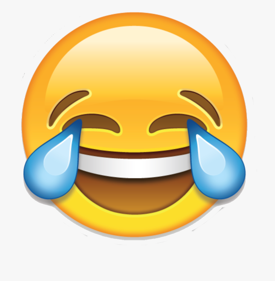 Face With Tears Of Joy Emoji Laughter Clip Art.
