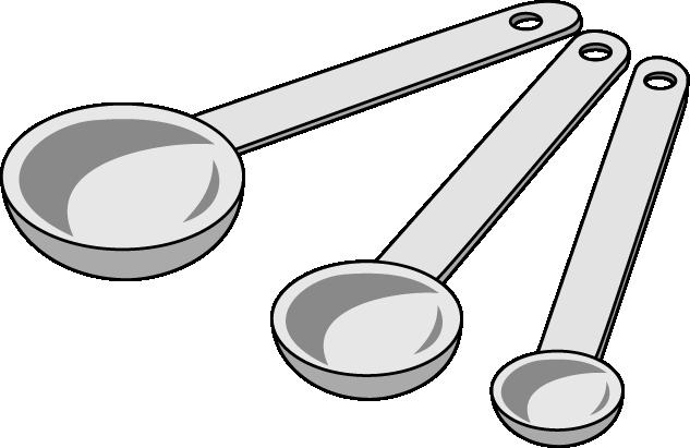 Teaspoon Clip Art Half.