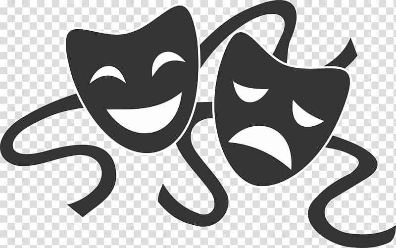 Comedy and Tragedy art, Musical theatre Drama Performing.