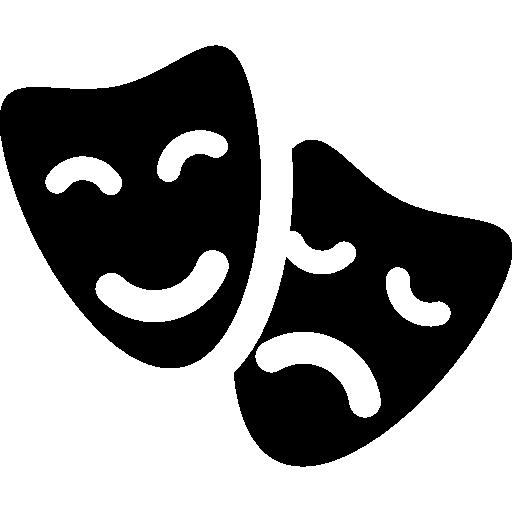 Teatro máscaras.