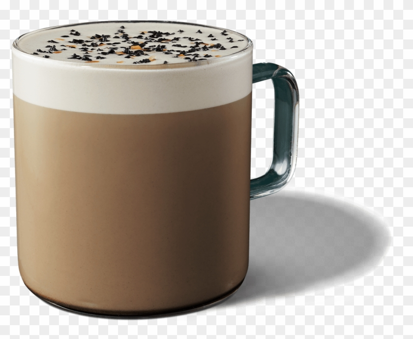 Starbucks Teavana Black Sesame Tea Latte.