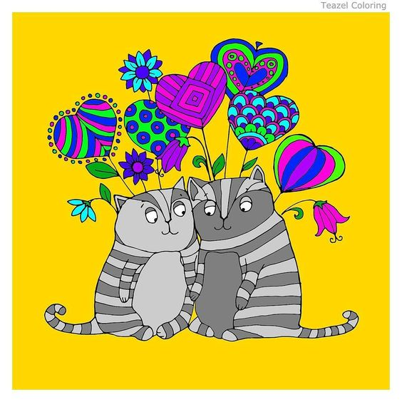 Gray cats, Love pictures and Cat love on Pinterest.