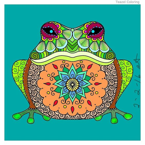 Kermit I'm looking at you! by Suzann #teazel #teazelcoloring.