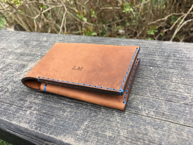 Black Chilli leather wallet.