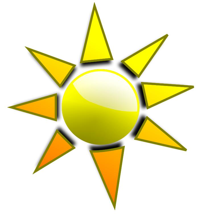 Sun Rays Clipart.