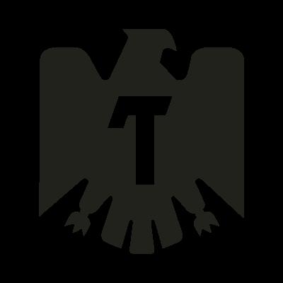 Tecate black vector logo.