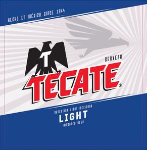 Cervecería Cuauhtémoc Moctezuma S.A. de C.V. Tecate Light.