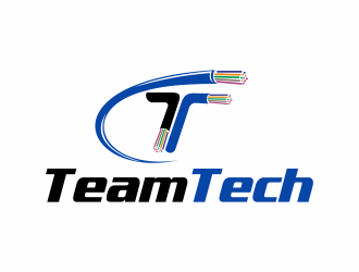 Team Tech logo design.