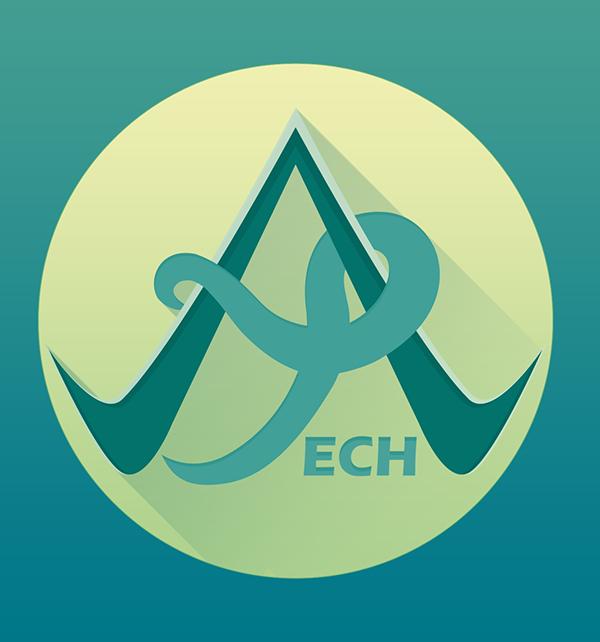 Alpha Tech Logo Design.