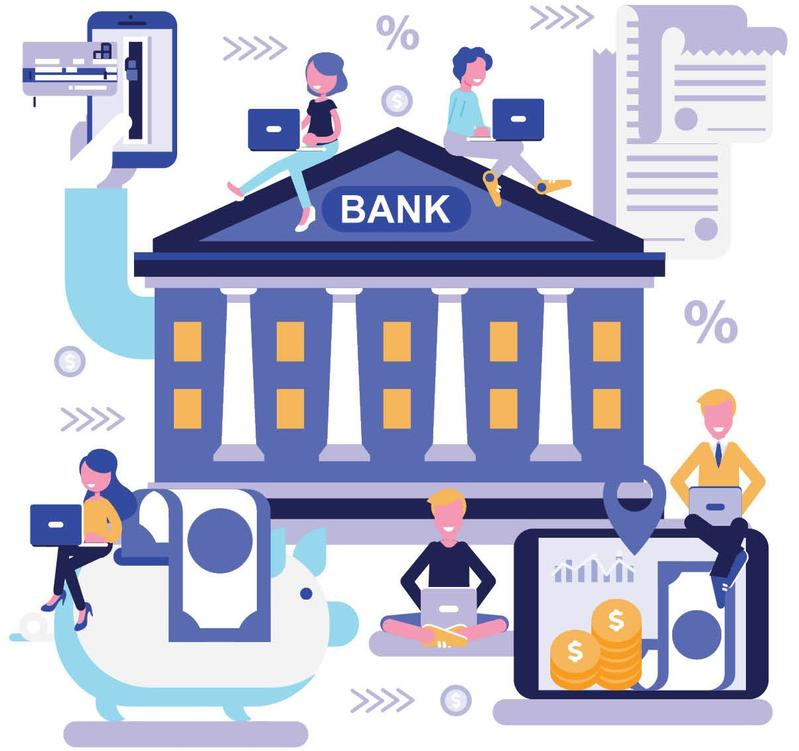 Traditional, virtual banks square off in battle for tech.