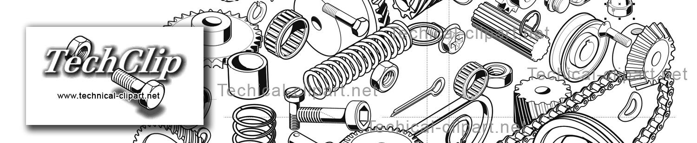Technical clip art.