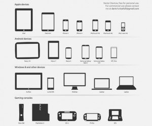 Technology Vector Icons.