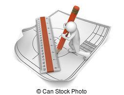 Clipart engineering drawings.