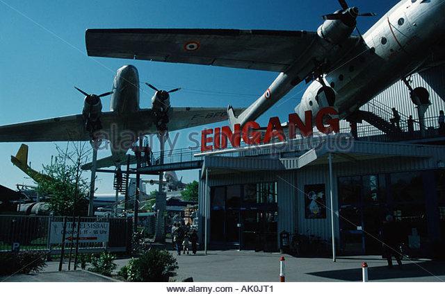 Technikmuseum Flugzeug Airplane Stock Photos & Technikmuseum.