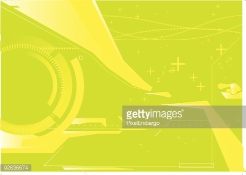 abstract techno background Clipart Image.