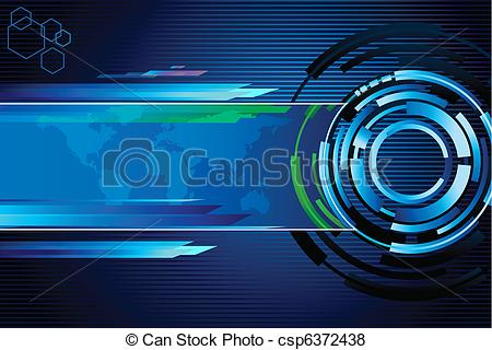 Vector of Techno Background.