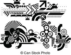 Techno Illustrations and Clipart. 52,347 Techno royalty free.