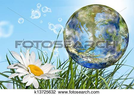 Clip Art of Geo technology.Nature k13725632.