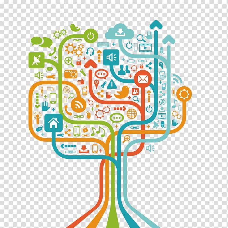 Social media Social network Computer network Icon, Computer.