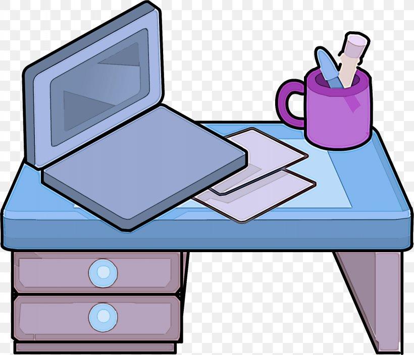 Clip Art Furniture Cartoon Table Computer Desk, PNG.