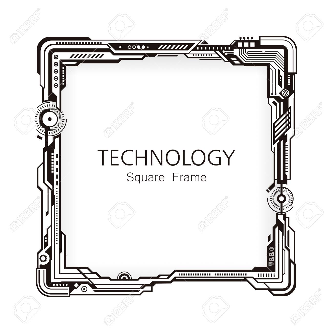 Technology Cliparts Border Free Download Clip Art.