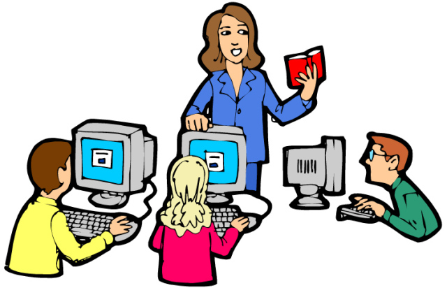 Technology in the classroom clipart 4 » Clipart Station.