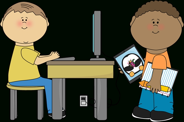 28+ Collection Of Technology In The Classroom Clipart.