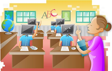 Technology In The Classroom Clipart (94+ images in.