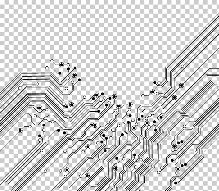 Electronic circuit Printed circuit board Electronics Icon.