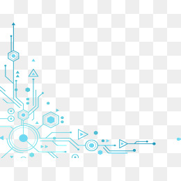 Technology line download free clipart with a transparent.