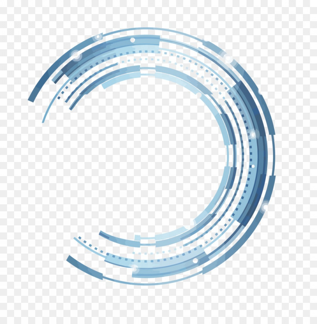 Png Technology Circle Vector Technology Wind Semicircl.