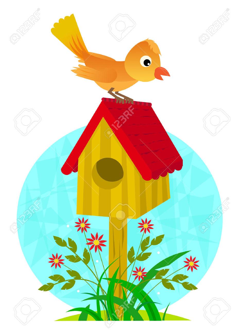 Birdhouse Y Pájaro.