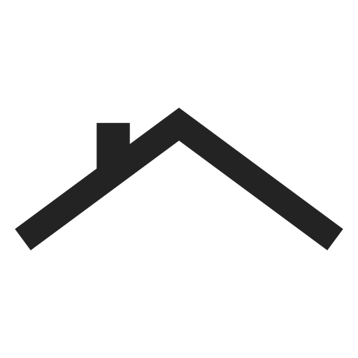 House roof icon.