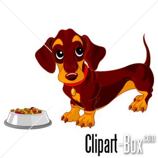 CLIPART TECKEL DOG.