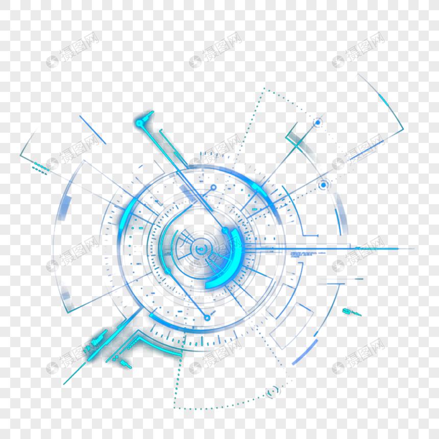 luz de design azul tecnologia Imagem Grátis_Gráficos Número.