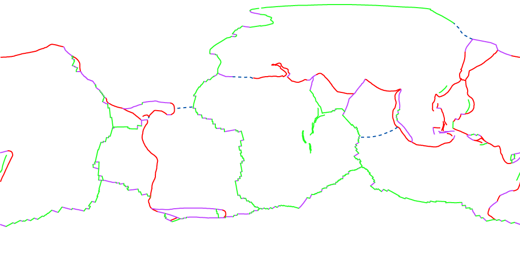Tectonic Plates and Plate Boundaries.