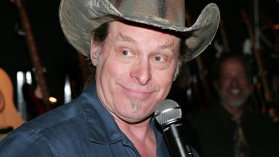 Ted Nugent Posts Video of Bernie Sanders Shooting Hillary Clinton.