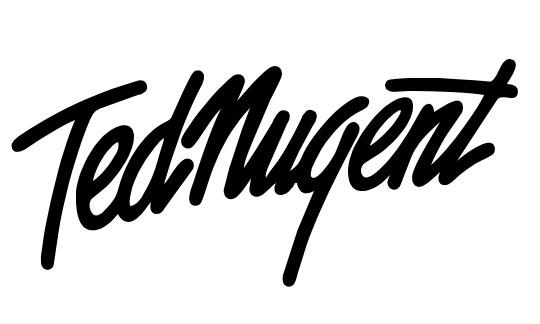 Ted Nugent font.