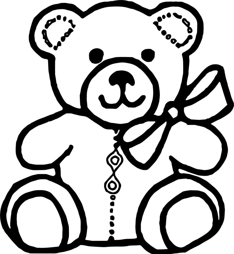 Toy Bear Drawing.