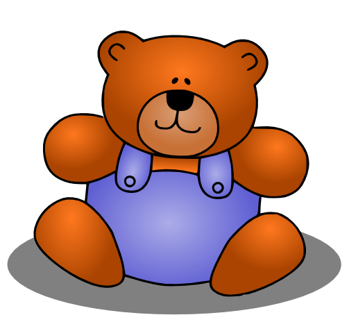 Download Teddy Bear Borders Images Png Image Clipart PNG.