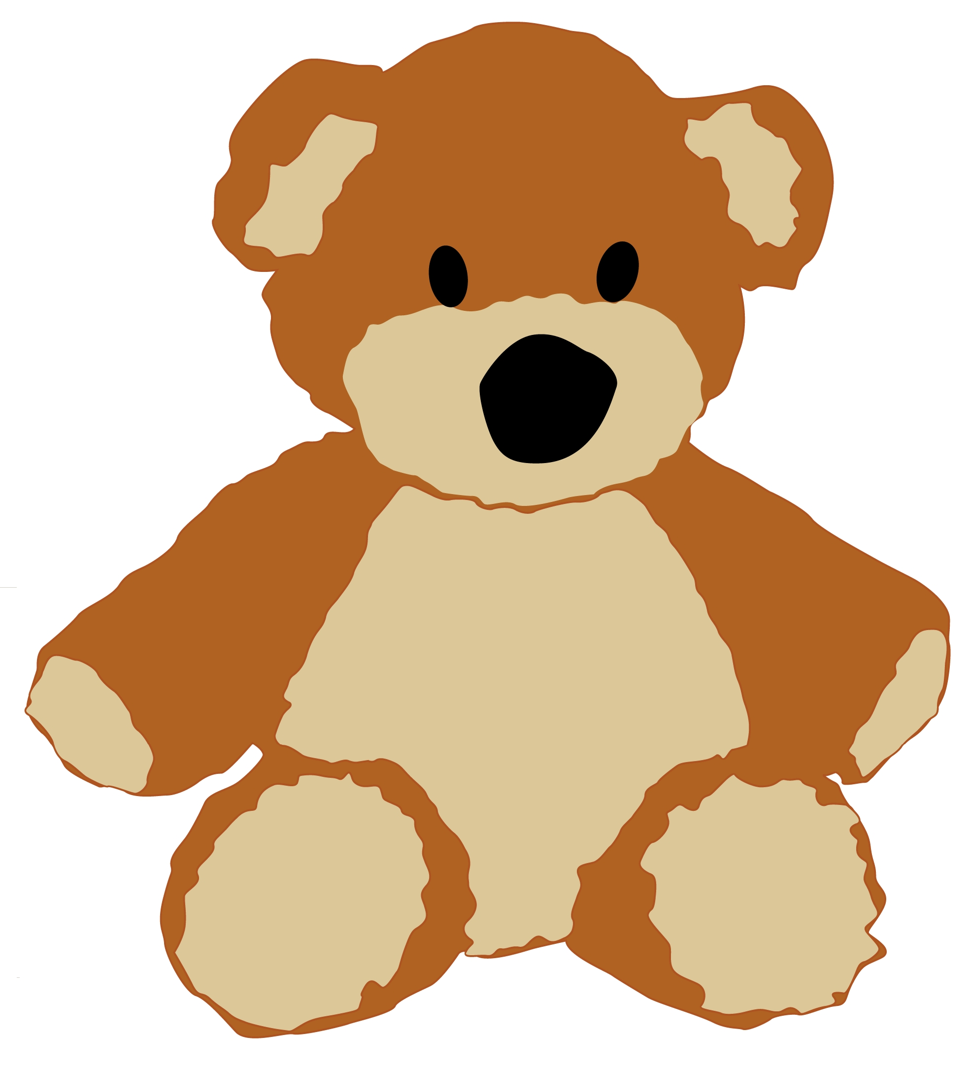 26+ Clip Art Teddy Bear.
